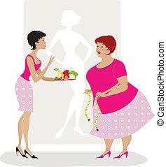 porada, dieta