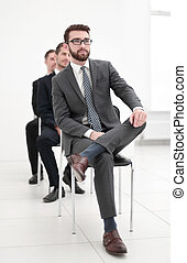 porada, národ, skupina, povolání, sedění