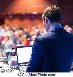 porada, presentation., mluvčí, povolání