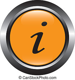 Porange information vector button