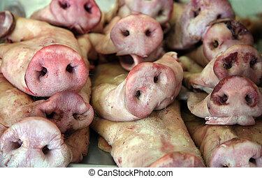 porc, nez