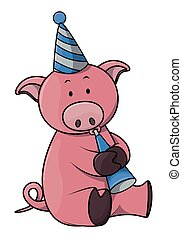 porca, aniversário