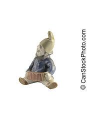 porcelain fantastic gnome