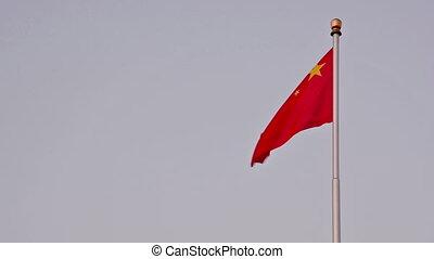 porcelaine, drapeaux