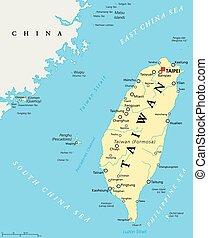 porcelaine, politica, république, taiwan