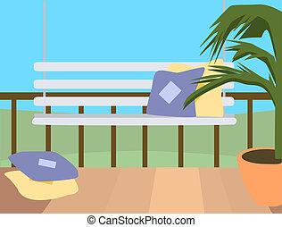 Porch Illustration
