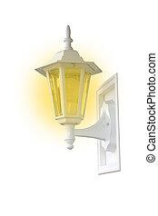 porch light lighted