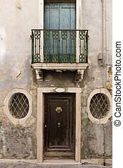 Porch of an old Italian house