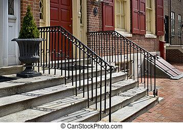 Porch Steps Philadelphia