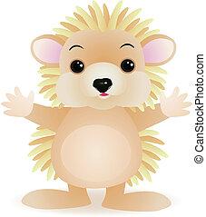 porcupine - Vector porcupine cartoon