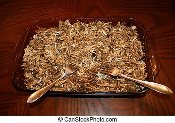 Pork BBQ Step 4 Shredded with forks