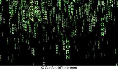 Porn online code matrix style