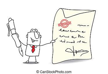 porozumienie, dla, przedimek określony przed rzeczownikami,...