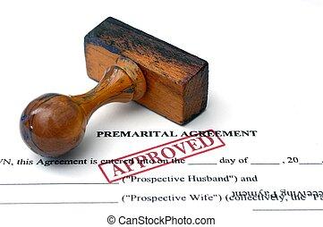 porozumienie, premarital