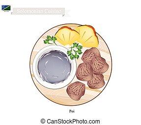 porridge, solomonian, tradizionale, minestra, poi, o