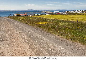 Porshofn village - Iceland.