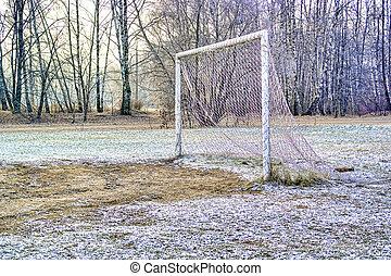 portão, campo futebol americano