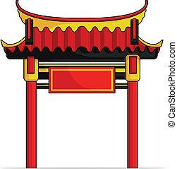portão, chinês