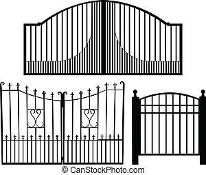 portão, cobrança