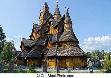 portée, norvège, église