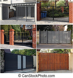 portões, cobrança