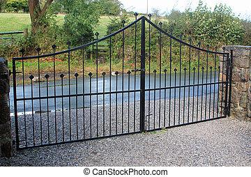 portões, segurança