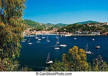 port, île bleue, toscane, elba