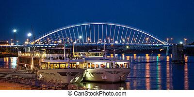 Port at Bratislava, Slovakia - BraTISLAVA, SLOVAKIA - JUN...