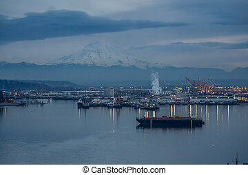 Port At Night