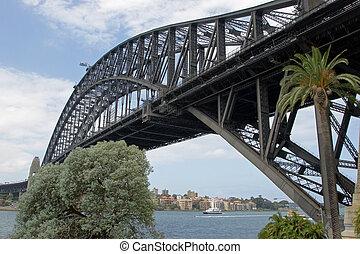 port, australie, sydney, pont