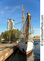 Port city of Gdynia