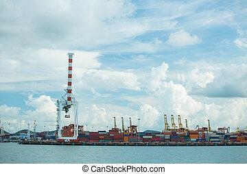 Port container terminal