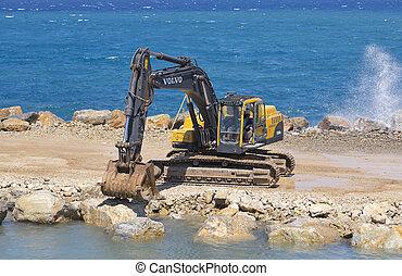 port, datca, construction