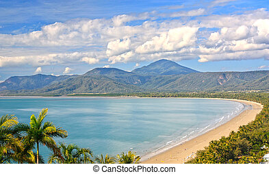 Port Douglas North Queensland Australia on a beautiful sunny day
