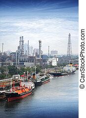 Port in bangkok