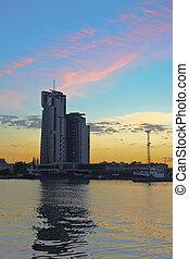 Port in Gdynia, Poland.
