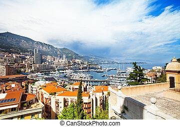 Port in Monaco