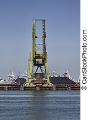 port, industrie charbon
