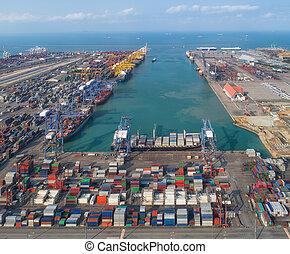 port, logistique