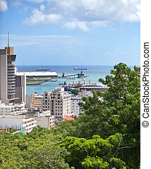 Port-Louis- capital of Mauritius