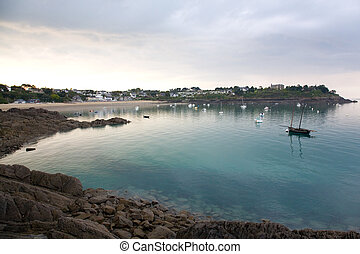 Port-Mer beach in Cancale, Brittany, France