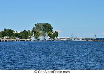 port, mer