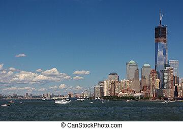 port, new york, scène