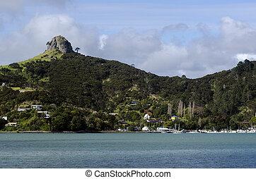 port, nouveau, whangaroa, -, zélande