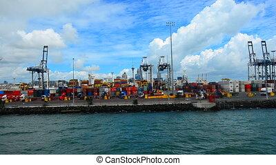 port, nouvelle zélande, auckland