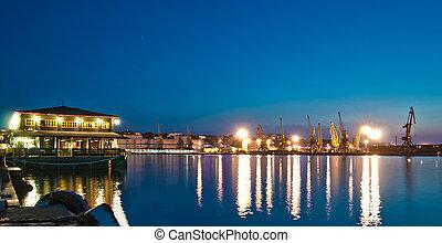 port, nuit