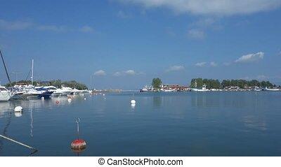 Port of Fanari, North of Greece