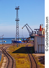 Port of Gdynia, Poland.