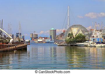 Port of Genoa. Italy.