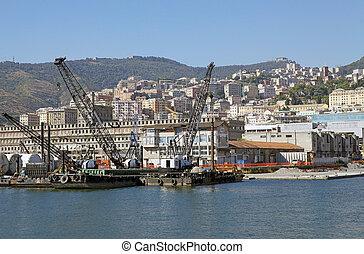 Port of Genoa, Italy